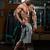 ハンサム · 筋肉の · 男 · ジャンプ · ロープ · カーディオ - ストックフォト © jasminko