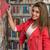beautiful female student in a university library stock photo © jasminko