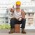 lavoratore · segno · approvazione · donna · costruzione · femminile - foto d'archivio © jasminko