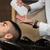 肖像 · 男性 · クライアント · 髪 · ヘアドレッサー · 洗濯 - ストックフォト © Jasminko
