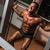 musculação · barbell · homem · corpo · ginásio · retrato - foto stock © Jasminko