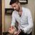 ヘアドレッサー · 洗濯 · 顧客 · 髪 · 若い男 · リラックス - ストックフォト © Jasminko