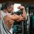 perfecto · bíceps · retrato · encajar · joven · masculina - foto stock © Jasminko
