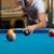 homme · jouer · billard · table · balle - photo stock © jasminko