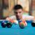 jonge · man · concentratie · bal · man · sport · leuk - stockfoto © jasminko