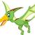 rajz · illusztráció · baba · dinoszaurusz · mosoly · zöld - stock fotó © jawa123