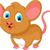 funny fat mouse cartoon posing stock photo © jawa123