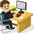 üzletember · siker · dolgozik · laptop · pop · art · retró · stílus - stock fotó © jawa123