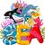 vicces · rajz · meduza · természet · tenger · rózsaszín - stock fotó © jawa123