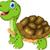 cut cartoon turtle posing stock photo © jawa123