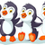 funny cartoon penguin set character stock photo © jawa123