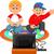 jongens · spelen · spel · cartoon · illustratie · teen - stockfoto © jawa123