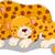 funny cheetah cartoon with her baby stock photo © jawa123