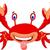divertente · granchio · cartoon · spiaggia · Ocean · rosso - foto d'archivio © jawa123