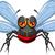 sivrisinek · böcek · karikatür · örnek · komik · karakter - stok fotoğraf © jawa123