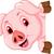 смешные · свинья · Cartoon · совета · фон · кадр - Сток-фото © jawa123