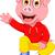 Постоянный · поросенок · Cartoon · иллюстрация · свинья - Сток-фото © jawa123