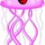 aranyos · meduza · vágási · körvonal · állat · rajz · tengeri - stock fotó © jawa123