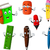 school stationery tool cartoon for your design stock photo © jawa123