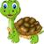 cut cartoon turtle stock photo © jawa123