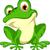 Cute · лягушка · сидят · воды · Лилия · весны - Сток-фото © jawa123