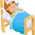 doente · mulher · jovem · cama · termômetro · alto · temperatura - foto stock © jawa123