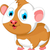 funny fat hamster cartoon posing stock photo © jawa123