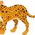 cute cheetah cartoon posing stock photo © jawa123
