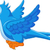 cute blue bird cartoon flying stock photo © jawa123