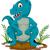 sevimli · karikatür · dinozor · karakter · çocuklar · mutlu - stok fotoğraf © jawa123