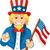 nagybácsi · csillag · zászló · vektor · rajz · illusztráció - stock fotó © jawa123