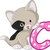 счастливым · Cartoon · имбирь · кошки · иллюстрация · белый - Сток-фото © jawa123