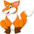 Cartoon · волка · стороны · дизайна · животные - Сток-фото © jawa123