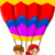 pôr · do · sol · grama · voador · gaivotas · ilustração · paisagem - foto stock © jawa123