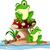 bonitinho · engraçado · sapo · desenho · animado · vetor · eps - foto stock © jawa123