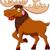 幼稚な · ムース · 赤ちゃん · 鹿 · 簡単 · 自然 - ストックフォト © jawa123