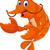 cute shrimp cartoon for you design stock photo © jawa123