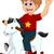 面白い · 家畜 · ペット · ベクトル · 漫画 · 孤立した - ストックフォト © jawa123