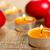 velas · três · vermelho · ovo · laranja - foto stock © jaycriss