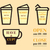 coffee signs open and closed elements fathers day theme flat design best for thematic party iso stock photo © jeksongraphics