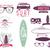 ayarlamak · bağbozumu · sörf · grafik · web · tasarım · sörfçü - stok fotoğraf © jeksongraphics