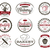 set of bakery labels bake badges and design elements sweets symbols fresh bread cakes logo templ stock photo © jeksongraphics