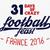 Frankrijk · Europa · 2016 · voetbal · label · voetbal - stockfoto © jeksongraphics