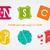 establecer · plantillas · cascos · diseno · elementos - foto stock © jeksongraphics