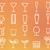 ital · italok · vektor · vékony · vonal · szimbólum - stock fotó © jeksongraphics