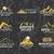 nyár · tél · hegy · felfedező · tábor · kitűző - stock fotó © jeksongraphics