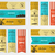 vector bakery banners shop cupcake and cafe labels collection stickers set with fresh bread wind stock photo © jeksongraphics