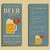 cerveja · festa · aviador · convite · modelo · vidro - foto stock © jeksongraphics