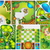 Collections od  Landscape Plan with treetop symbols stock photo © jelen80