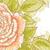 branco · contorno · desenho · folhas · aquarela - foto stock © jet